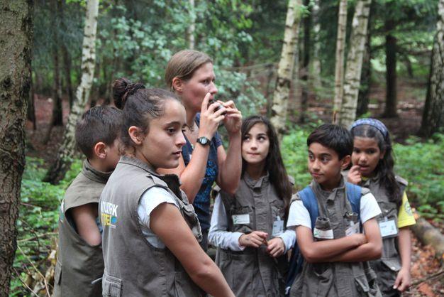 Natur erleben auf einer Exkursion mit den Naturpark-Entdecker-Westen