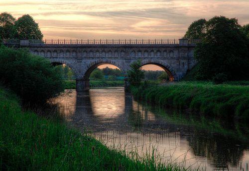 3 Bogen Brücke in Olfen im Naturpark Hohe Mark - Westmünsterland