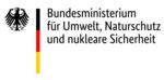 Zu sehen ist das Logo vom Bundesministerium für Umwelt, Naturschutz und nukleare Sicherheit