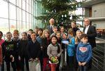 Weihnachtsbaumes aus dem Naturpark Schwalm-Nette für den Deutschen Bundestag