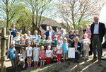 Auszeichnung der ersten Naturpark-Kita in NRW