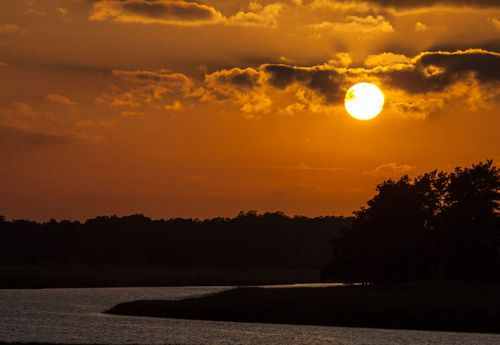 Sonnenuntergang im Naturpark Elbhöhen-Wendland