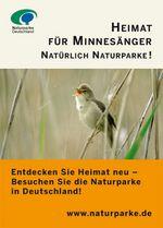 igenmotiv Heimat für Minnesänger: Auf dem Bild sitzt ein Singvogel im Gras