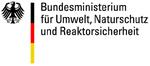 """Logo """"Bundesministerium für Umwelt, Naturschutz und Reaktorsicherheit"""""""
